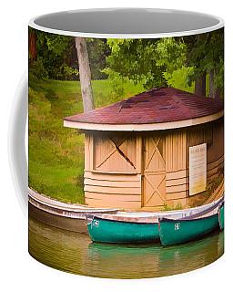 Shoreline Boat Shed Coffee Mug