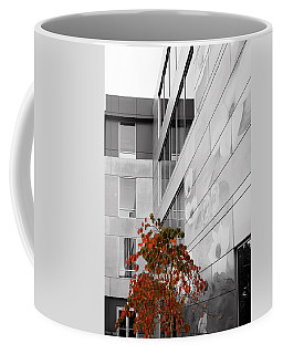 Coffee Mug featuring the photograph Shoreline City Hall by Mary Jo Allen