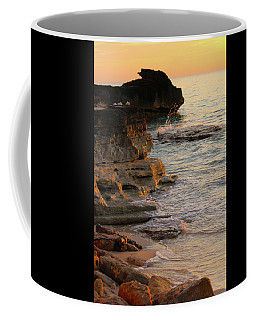 Shoreline In Bimini Coffee Mug