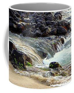 Coffee Mug featuring the photograph Shoreline by Lori Seaman