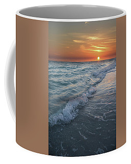 Shoreline Sunset Coffee Mug