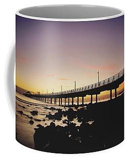 Shorncliffe Pier At Dawn Coffee Mug