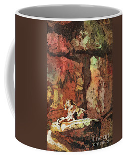 Coffee Mug featuring the painting Short Reprieve by Ryan Fox