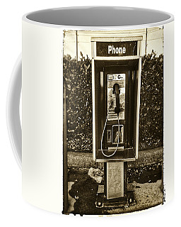 Short Stack Pay Phone Coffee Mug