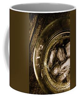 Shot Of Whisky On The Rocks Coffee Mug
