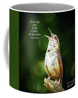 Coffee Mug featuring the photograph Shout For Joy by Kerri Farley