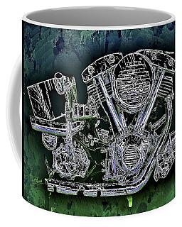 Harley - Davidson Shovelhead Engine Coffee Mug