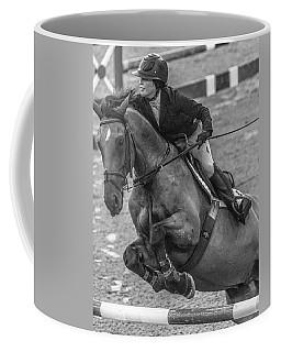 Show Jumping Lightning Coffee Mug