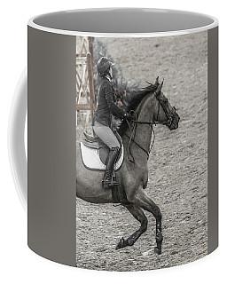 Show Jumping Teamwork Coffee Mug