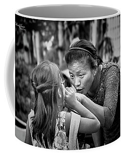 Coffee Mug featuring the photograph Show Me by Wallaroo Images