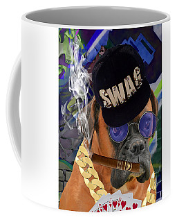 Coffee Mug featuring the mixed media Showing My Cards by Marvin Blaine
