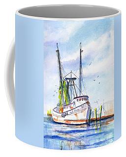 Shrimp Boat Gulf Fishing Coffee Mug