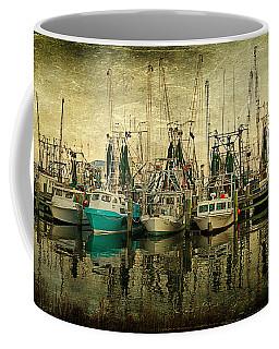 Shrimp Boat Lineup Coffee Mug