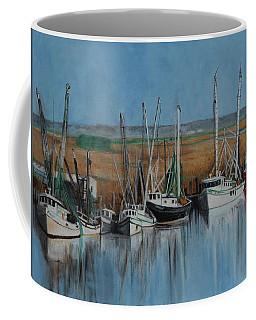 Shrimp Boats Of Darien, Ga Coffee Mug