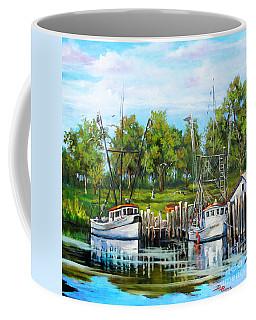 Shrimping Boats Coffee Mug