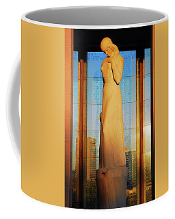 Shrine Of Memory Coffee Mug by James Kirkikis