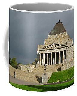 Shrine Of Remembrance Coffee Mug