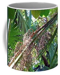Shrub In Trees Contrast Coffee Mug