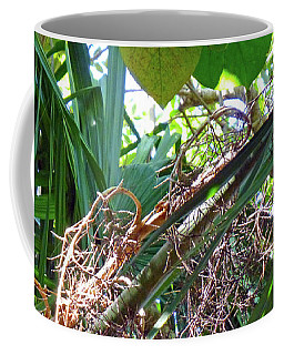 Shrub In Trees Contrast Coffee Mug