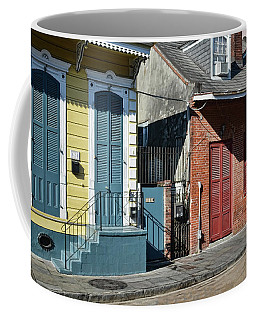 Shuttered Morning Light - New Orleans Coffee Mug by Greg Jackson