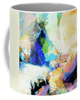 Coffee Mug featuring the painting Shuttle by Dominic Piperata