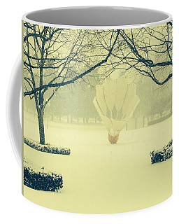 Shuttlecock In The Snow Coffee Mug