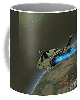 Shuttlestar Transport Coffee Mug