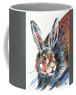 Shy Hare Coffee Mug
