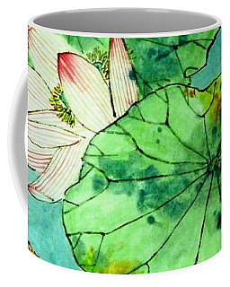 Shy Lotus Coffee Mug