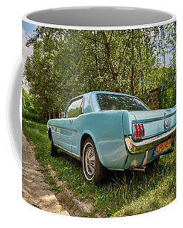 Coffee Mug featuring the photograph Shy by Tgchan
