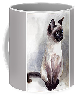 Siamese Kitten Portrait Coffee Mug
