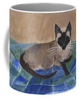 Siamese Nap Coffee Mug