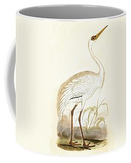 Siberian Crane Coffee Mug