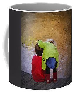 Sibling Love Coffee Mug by Brian Wallace