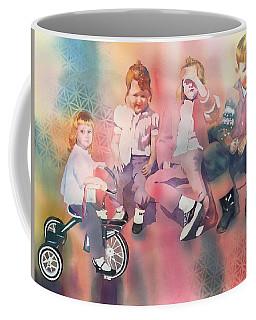 Siblings And Cousins, Circa 1950-1963 Coffee Mug by Tara Moorman