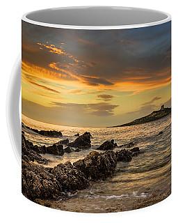 Sicilian Sunset Isola Delle Femmine Coffee Mug by Ian Good