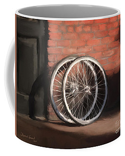 Coffee Mug featuring the digital art Side By Side by Dwayne Glapion