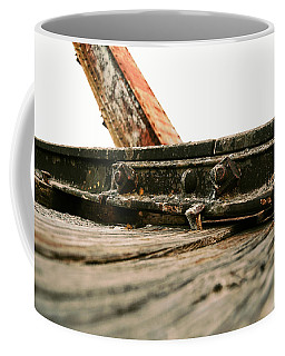 Side Of Rail #photography #trains Coffee Mug