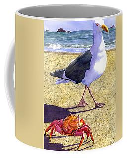 Side Stepping Coffee Mug