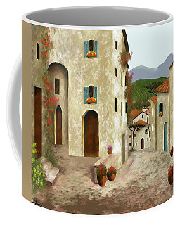 side streets of Tuscany Coffee Mug