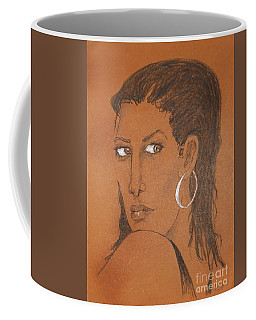 Sidelong Glance -- Original Coffee Mug