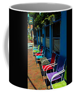 Sidewalk Cafe Coffee Mug by Kevin Fortier