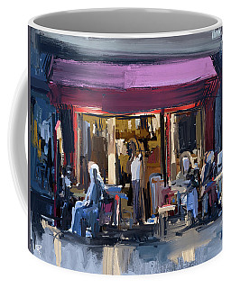Sidewalk Scene Coffee Mug