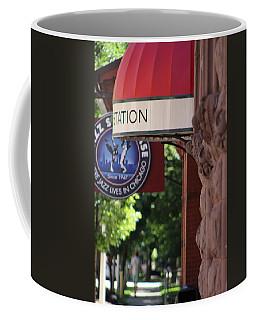 Sidewalk View Jazz Station  Coffee Mug