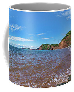 Coffee Mug featuring the photograph Sidmouth Jurassic Coast by Scott Carruthers