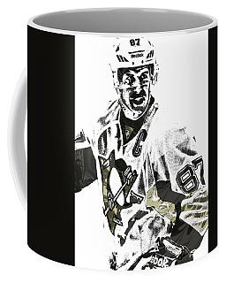 Sidney Crosby Pittsburgh Penguins Pixel Art 4 Coffee Mug by Joe Hamilton