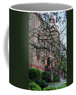 Coffee Mug featuring the photograph Sidney Park Cme Church by Skip Willits