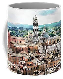 Siena Duomo From The Torre Del Mangia Coffee Mug