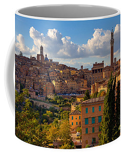 Coffee Mug featuring the photograph Siena by Spencer Baugh
