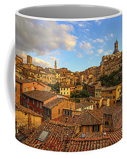 Coffee Mug featuring the photograph Siena Sunset by Spencer Baugh